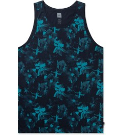 HUF Jade/Navy Floral Tank Top Picture