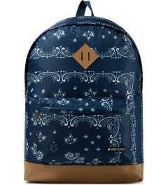 Undefeated Navy Bandana Backpack Picture