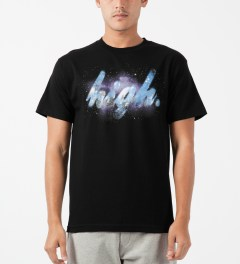 Odd Future Black High Galaxy T-Shirt Model Picture
