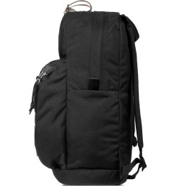 Epperson Mountaineering Raven Black Daypack w/ Leather Patch Model Picutre