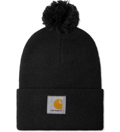Carhartt WORK IN PROGRESS Black Bobble Watch Hat Picture