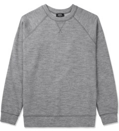 A.P.C. Grey Central Park Sweater Picutre