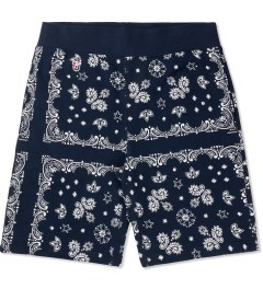 Undefeated Navy Bandana Sweatshorts Picture