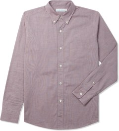Head Porter Plus Red Glen Check Shirt Picture