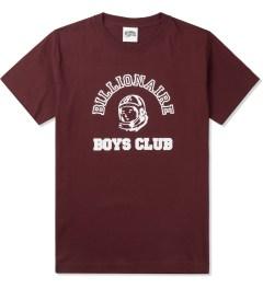 Billionaire Boys Club Burgundy Billionaire College Pop T-Shirt Picture