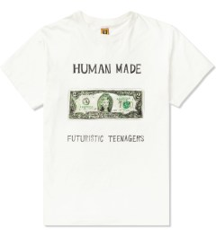 Human Made White Two Dollars Bill T-Shirt Picutre