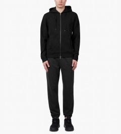 SUNSPEL Black Track Pants Model Picture