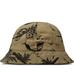 10.Deep Khaki J.Evans Bucket Hat Model Picutre