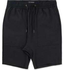 ZANEROBE Black Mesh Gabe Shorts Picture