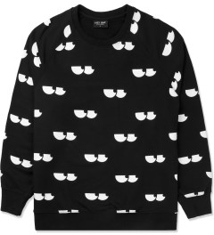 Lazy Oaf Black Eye Socket Sweater Picture