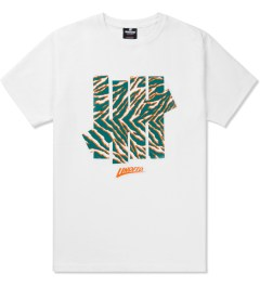 Undefeated White Arena 5 Strike T-Shirt Picutre