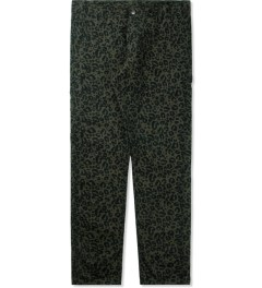 Carhartt WORK IN PROGRESS Panther Print/Cypress Lincoln Single Knee Pants Picutre