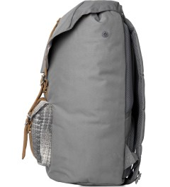 Herschel Supply Co. Grey Cabin Little America Backpack Model Picutre