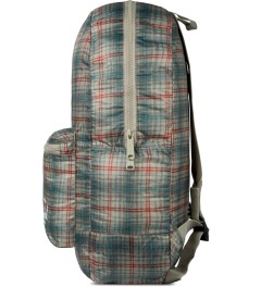 Herschel Supply Co. Grey Plaid Packable Daypack Model Picture