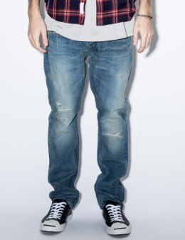 DELUXE Indigo Savage Rocker Pants Picture