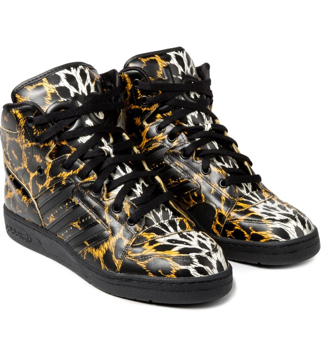 adidas Originals x Jeremy Scott Instinct Hi Leopard Shoe