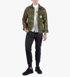 FTC Dark Hunt Camo Overall Jacket Model Picture