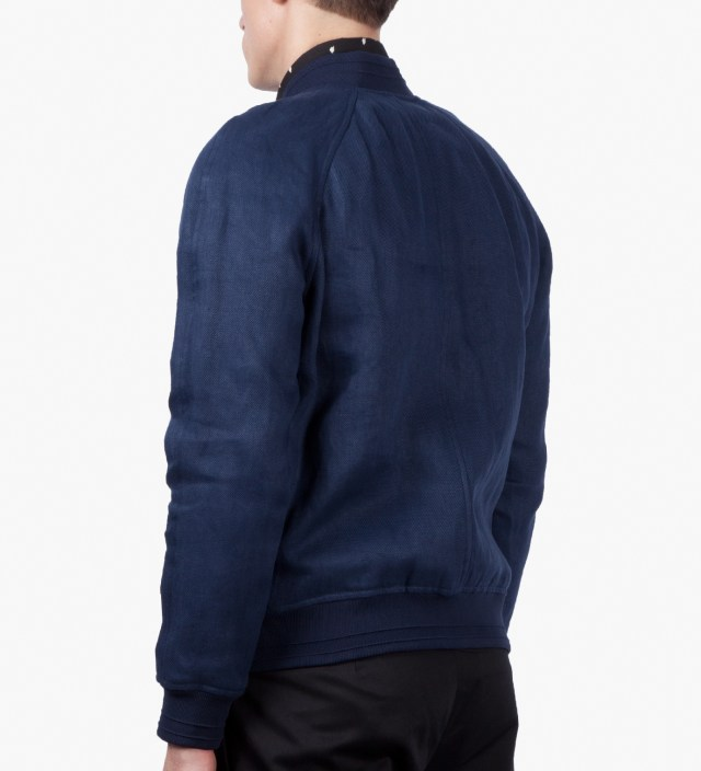 Dark Navy Bomber Jacket