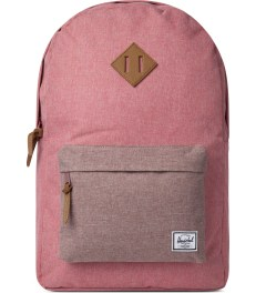 Herschel Supply Co. Rust Crosshatch Classics Heritage Backpack Picutre