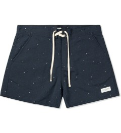 SATURDAYS Surf NYC Navy Curtis Trunks Picutre