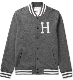 HUF Black Classic H Varsity Jacket Picutre
