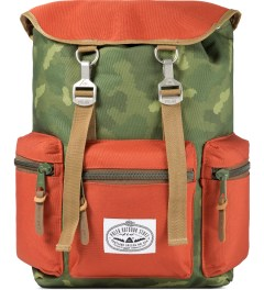 Poler Camo/Orange Roamers Pack Backpack Picutre