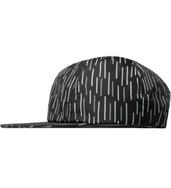 ICNY Black Rain 6 Panel Sport Cap Model Picture