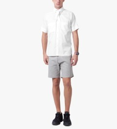 salvy White S/S Shirt Model Picutre