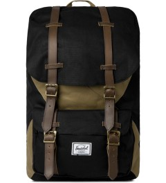 Herschel Supply Co. Black/Sand Little America Backpack Picutre