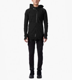 11 By Boris Bidjan Saberi Black Z-1 F-1201 EMI Pullover Jacket Model Picutre