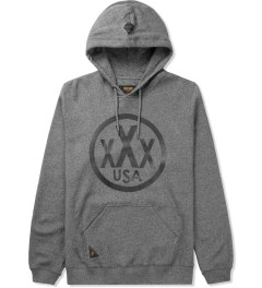 10.Deep Black Marl Signed & Sealed  Hoodie Picutre