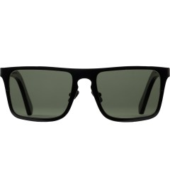 Shwood Black Titanium/Dark Walnut Govy 2: G15 Polarized Sunglasses Picutre