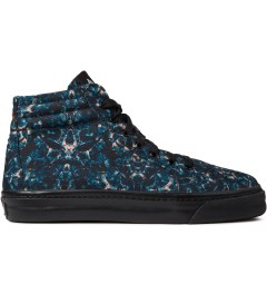 Marcelo Burlon Negative Snake Print Allover Hi Top Sneakers Picture