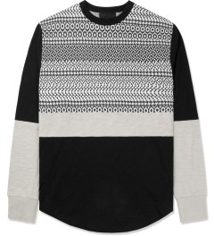 Black Scale Black Carigan L/S T-Shirt Picture