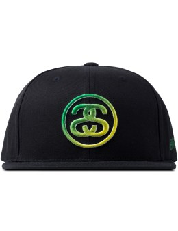 Stussy Black SS Link Fade Cap Picture
