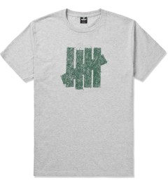 Undefeated Heather Grey Ink Strike T-Shirt Picture