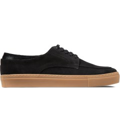 E.R SOULIERS DE SKATE Black Croco/Black Suede Shoes Picture