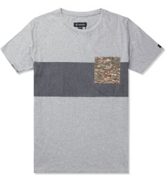 ZANEROBE Light Grey Quest T-Shirt Picture