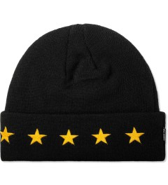 Undefeated Black 5 Star Cuff Beanie Picutre