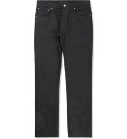 Nudie Jeans Black/Black Tight Long John Jeans Picture