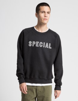 Special Delivery NYC Black Logo Sweater Picture