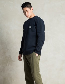 Stussy Navy Basic Logo Sweater Picture