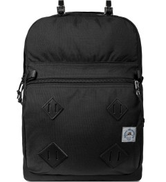 Epperson Mountaineering Raven Black Daypack w/ Leather Patch Picutre