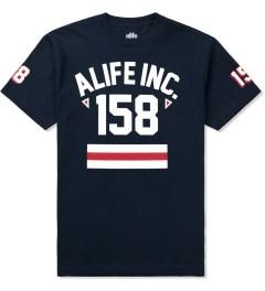 ALIFE Peacoat Black 158 Athletics T-Shirt Picture