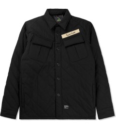 MAGIC STICK Black Slash Quilted BDU Jacket Picture