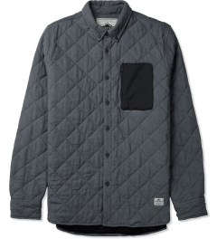 Penfield Navy Harrison L/S Quilted Shirt Picture