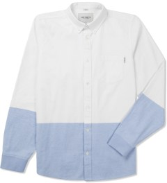 Carhartt WORK IN PROGRESS White/Bleach L/S Turner Shirt Picture