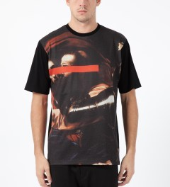 Black Scale Black Deception T-Shirt Model Picture
