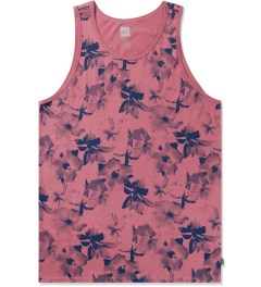 HUF Salmon/Navy Floral Tank Top Picture