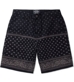 Grand Scheme Black Bandana Short Picutre